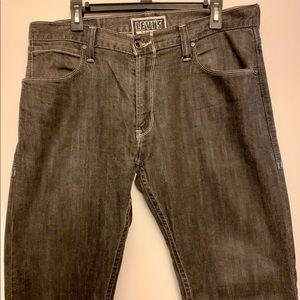 Levis 514 Slim Straight Denim Jeans 34x34 Black